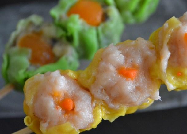 Shumai Dumplings, 7-11 Food in Bangkok Thailand