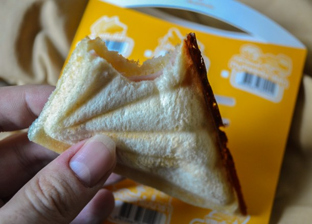 7-11 Food in Bangkok, Ham and Cheese Toastie Thailand