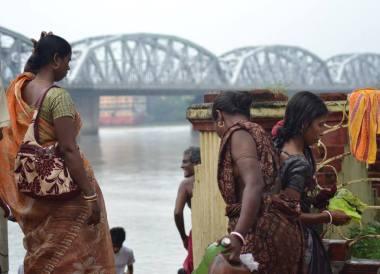 Bally River Bridge, Dakshineswar Kali Temple, Hooghly River, Kolkata