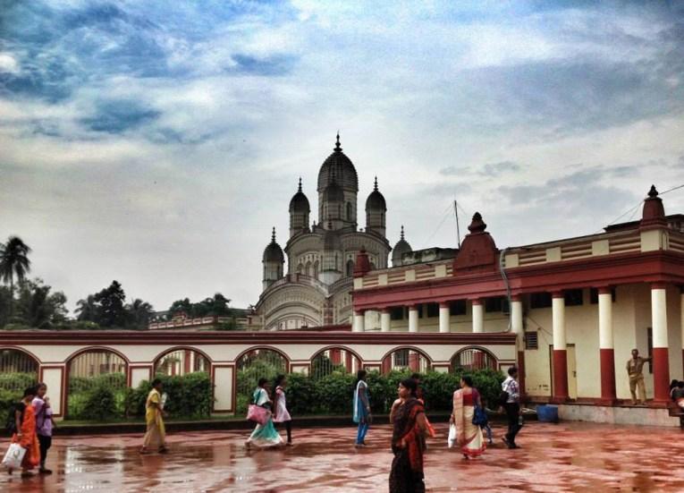 Arriving Front of Dakshineswar Kali Temple, Hooghly River, Kolkata