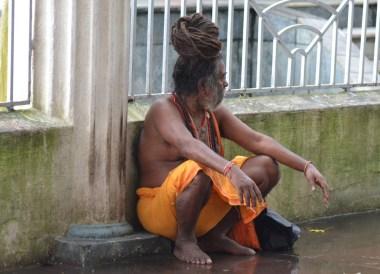 Hindu Pilgrim, Dakshineswar Kali Temple, Hooghly River, Kolkata