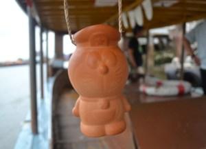 Doraemon Pottery Jug, Bangkok to Koh Kret Island, Thailand