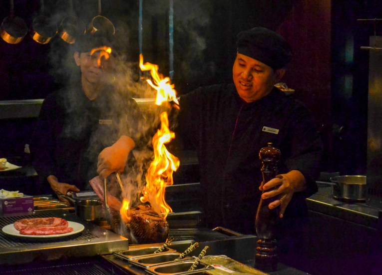 Firing Tomahawks, Intercontinental Bangkok Hotel Review, Chit Lom