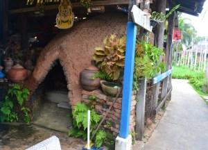 Home with Kilns, Bangkok to Koh Kret Island, Thailand