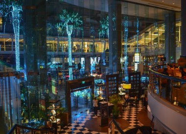 Hotel Lobby area at Intercontinental Hotel Bangkok Review, Chit Lom