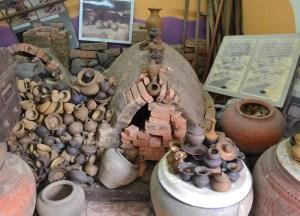 Pottery Exhibits, Bangkok to Koh Kret Island, Thailand