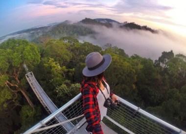 Gopro Views, Ulu Ulu Resort, Temburong National Park Brunei Borneo
