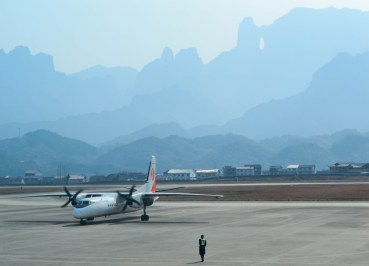 Zhangjiajie Airport, Long Distance Travel in China Beginners