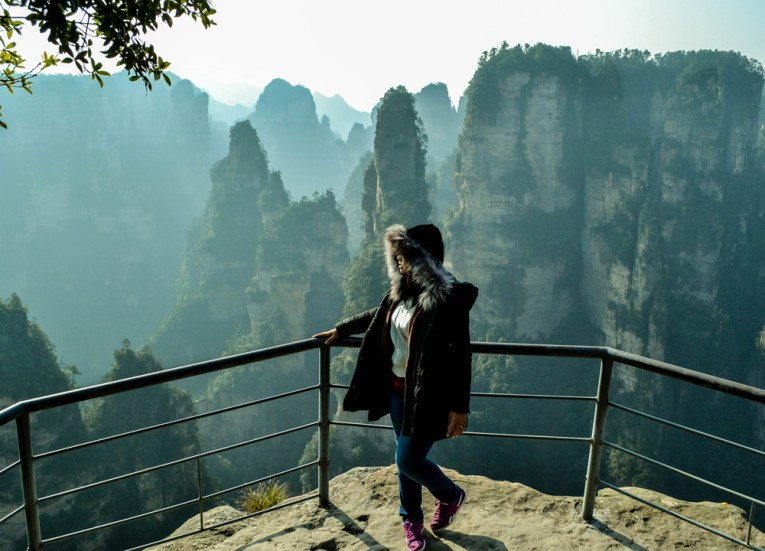 Viewing Platforms, Travel to Zhangjiajie National Park