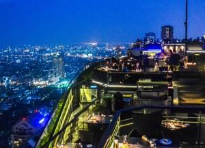 Food With Views, Vertigo Rooftop Restaurant Bangkok Moon Bar