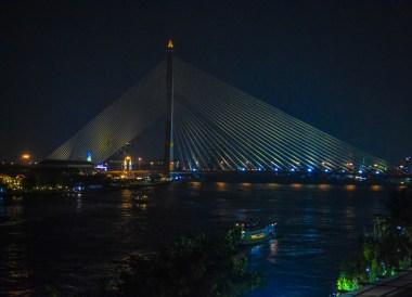 Rama 8 Bridge, Weekend in Bangkok 2 Days Itinerary Thailand
