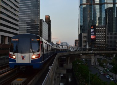 Bangkok Skytrains, Malaysia to Thailand by Train From Kuala Lumpur