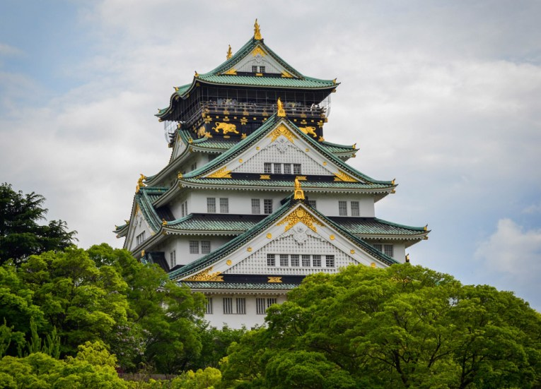 Osaka Castle in Spring, Top Tourist Attractions in Osaka Japan