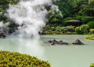 Very Hot Springs, 8 Hells of Beppu by JR Pass, Japan Travel