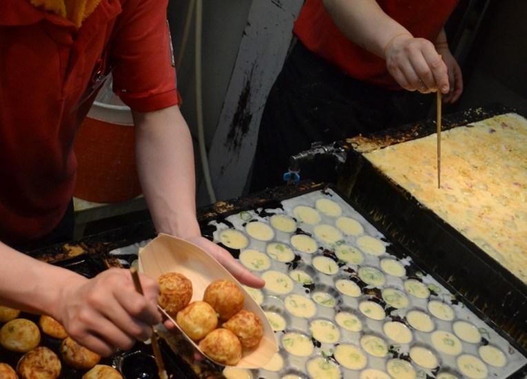 Tacoyaki in Osaka, Top 50 Foods of Asia, Asian Food Guide