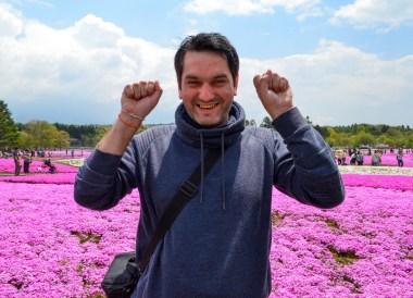 JR Pass, Travel to Mount Fuji Shibazakura Flower Festival