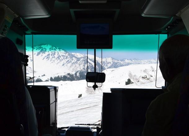 Mountain Vistas, Alpine Route by JR Pass Japan