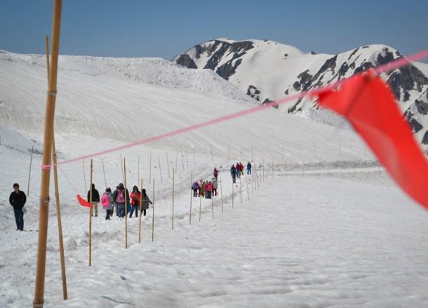 Snow Walks, Alpine Route by JR Pass Japan