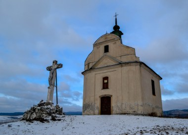 Small Church Stop, Winter Road Trip in East Central Europe