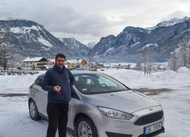 Rental Car for Winter Road Trip in Central Europe and Alps