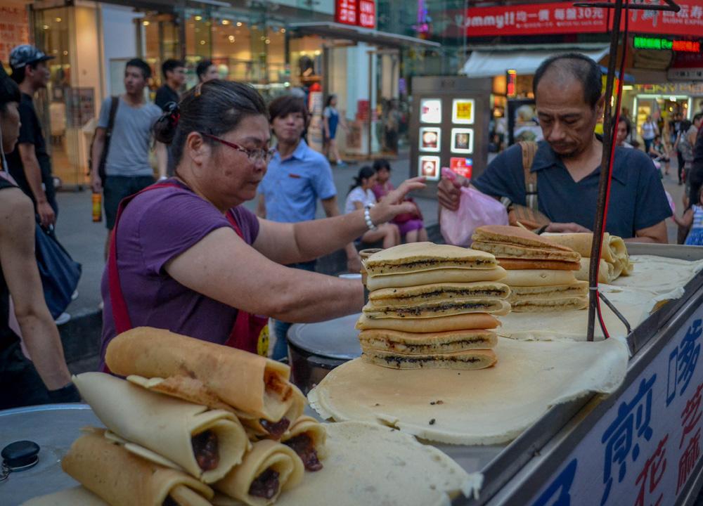 Taiwanese Desserts, Best Tourist Area in Taipei Ximending Ximen Metro Station