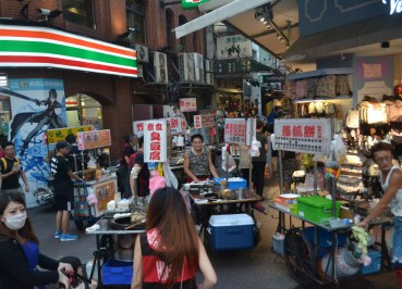 Street Hawkers, Best Tourist Area in Taipei Ximending Ximen Metro Station
