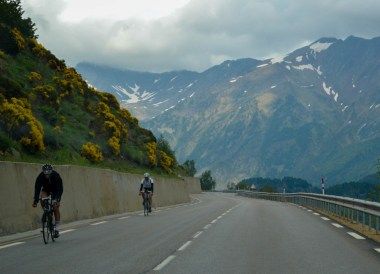 Andorra Cyclists, Road Trip in France Southern Borders June