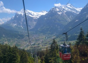 Mannlichen cable car, Jungfrau 3 Day Travel Pass Best Attractions
