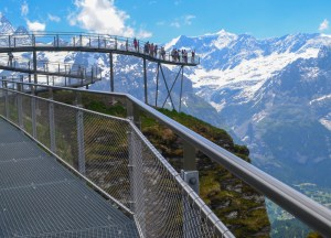 First Cliff Walk, Jungfrau 3 Day Travel Pass Best Attractions