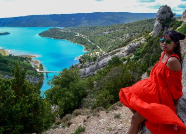 Gorges Verdon, Road Trip in France Southern Borders June