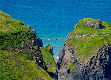 Carrick-a-rede, Top Best Tourist Attractions in Northern Ireland