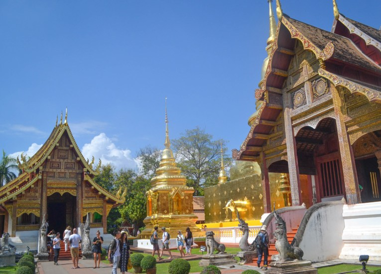 Temple Compound, Top 10 Attractions in Chiang Mai Province Thailand