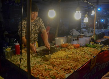 Pad Thai Night Markets, Living in Chiang Mai Northern Thailand