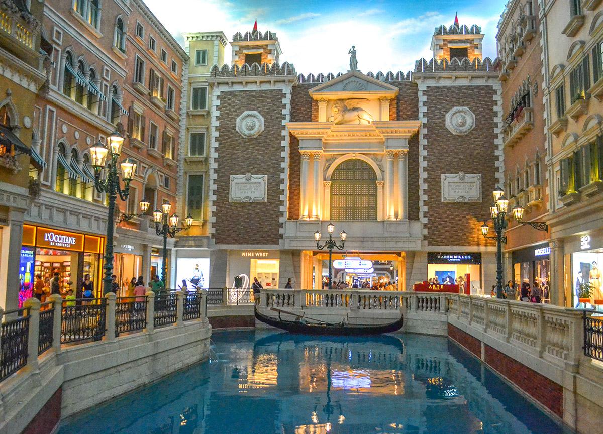 Venetian Canals, Top 10 Tourist Attractions in Macau