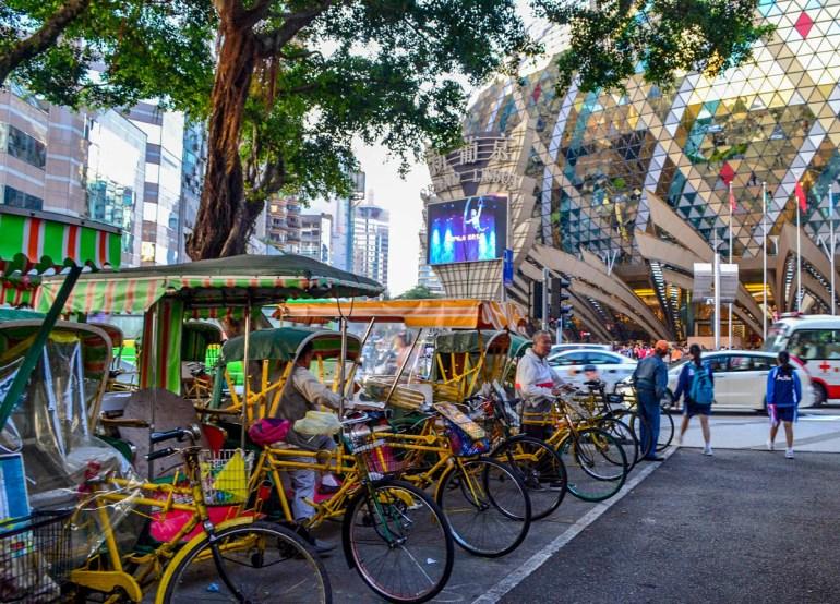 Bicycle Rickshaws, Top 10 Tourist Attractions in Macau