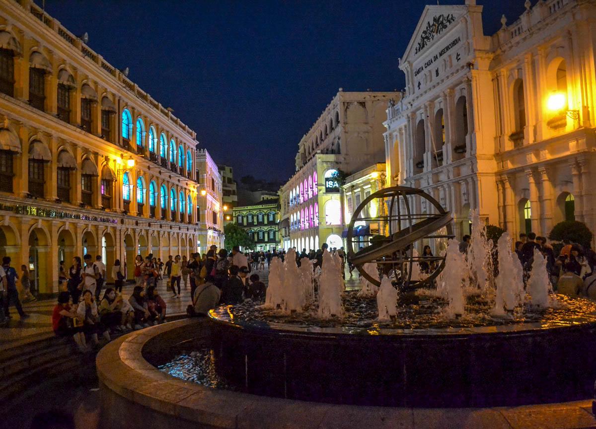 Senado Square, Top 10 Tourist Attractions in Macau