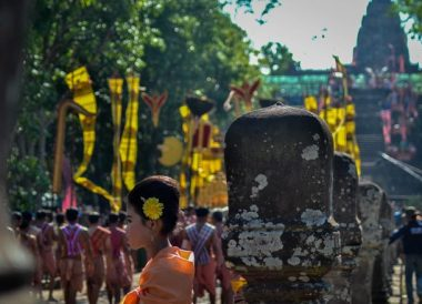 Phanom Rung Festival Parade, Thailand Border Towns and Attractions