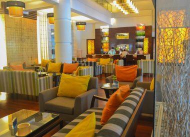 Cocktail Bar at Dusit Princess Korat Hotel. Gateway to Isaan Northeast Thailand