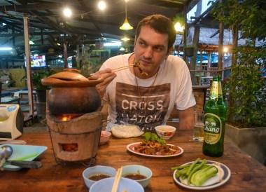 Allan Wilson Food Blogger, Thai Isaan Food, Eating in Northeastern Thailand