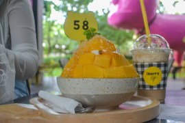 Mango Bingsu, Best Cafes and Coffee Shops in Nimman Chiang Mai