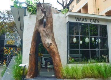 Waan Cafe nimman, Best Restaurants in Nimman Road Area of Chiang Mai Thailand