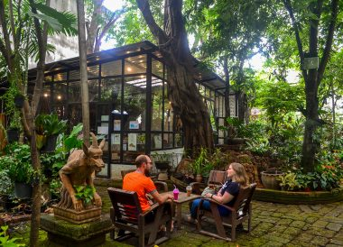 Clay Studio Garden, Best Cafes Coffee Shops in Chiang Mai Thailand