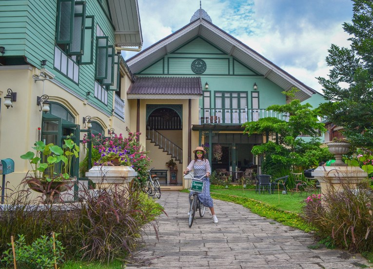 European Style Buildings, Road Trips in Northern Thailand Chiang Mai