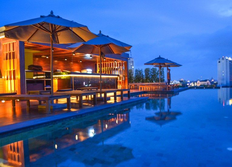 Infinity Pool at Anantara Vacation Club Chiang Mai Riverside