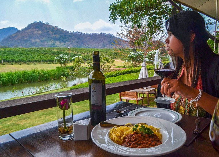 Khao Yai Vineyards, Travel in Isaan Thailand (Northeast Thailand)