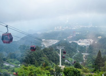 Awana Skyway Cable Car at Resorts World Genting