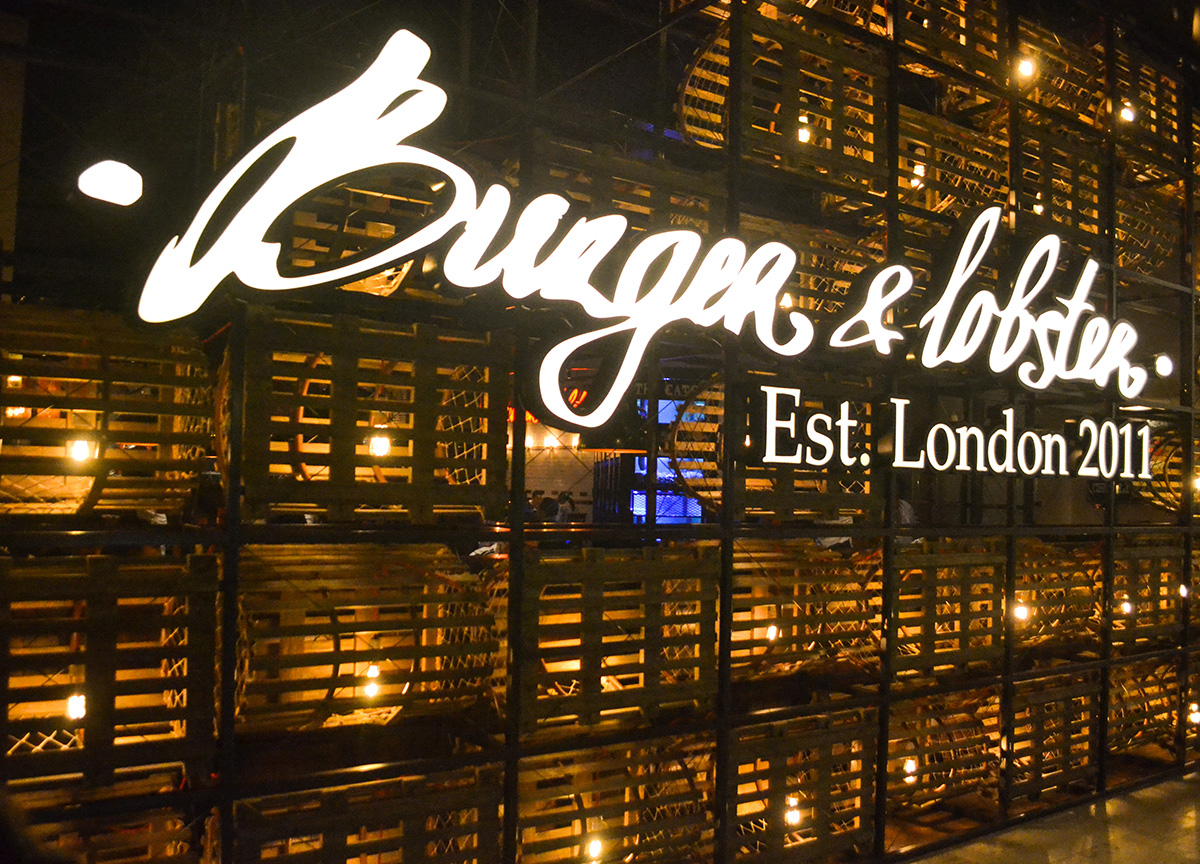 Burger and Lobster at Sky Avenue (Resorts World Genting)