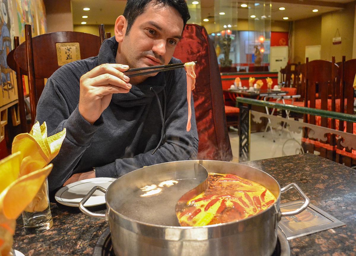 Weird Meats, Sichuan Hot Pot Cygnet Chongqing China Chillies Pepper