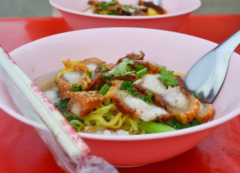 Street Vendor, Thai Noodle Soups in Thailand