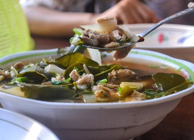 Tom Saap Soup, Thai Isaan Food, Eating in Northeastern Thailand